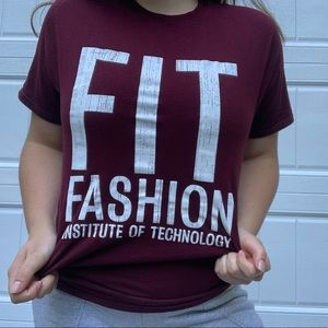 Champion fit fashion institute of technology tee